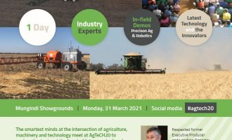 AgTeCH20 Mungindi, NSW to be held 31st March 2021